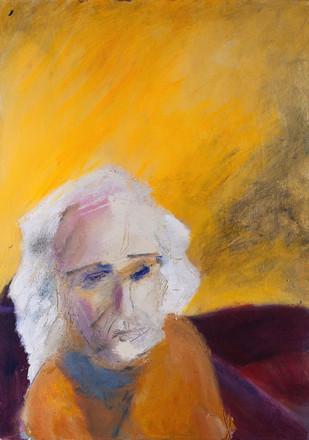 Lesley, 2014, acrylic on canvas, 70X50