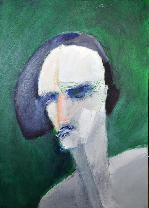 Rebecca 2, 2016, acrylic on canvas, 70X50