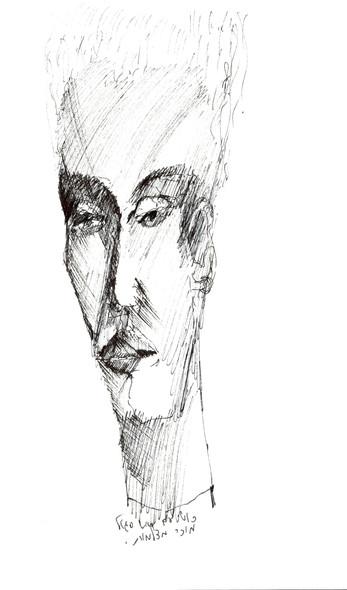 Boston 2, 1995, ink on paper, 30X20.jpg