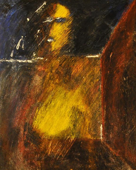 Nude 5, 2013, acrylic on canvas, 50X40