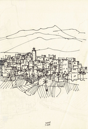 Morocco 2, 2002, ink on paper, 30X20.jpg