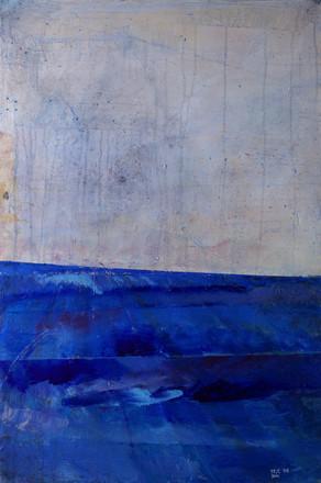 Breakwater 2, 2015, acrylic on canvas, 100X70