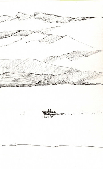Scotland, 2011, ink on paper, 30X20.jpg