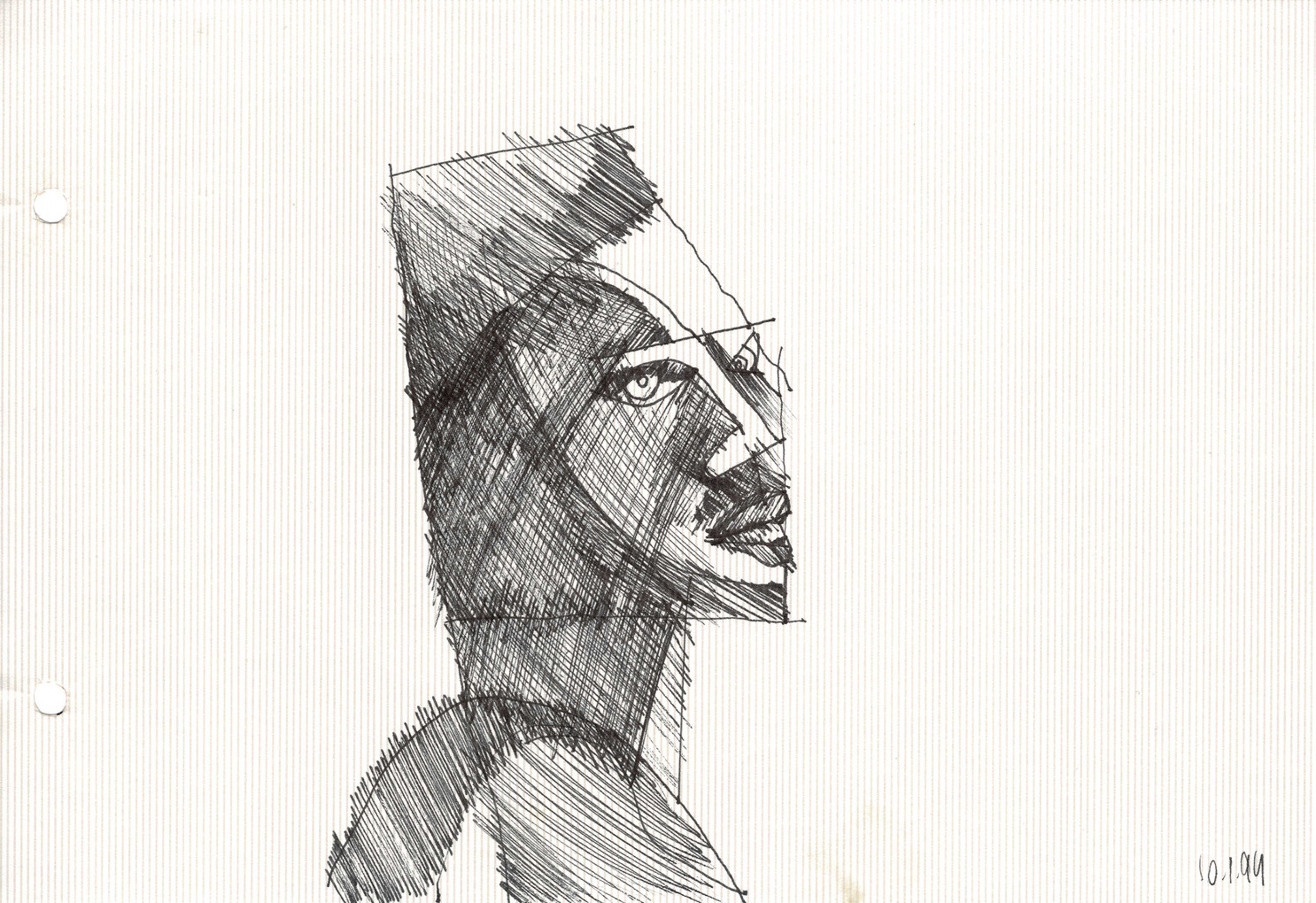 Boston 1, 1994, ink on paper, 30X20.jpg