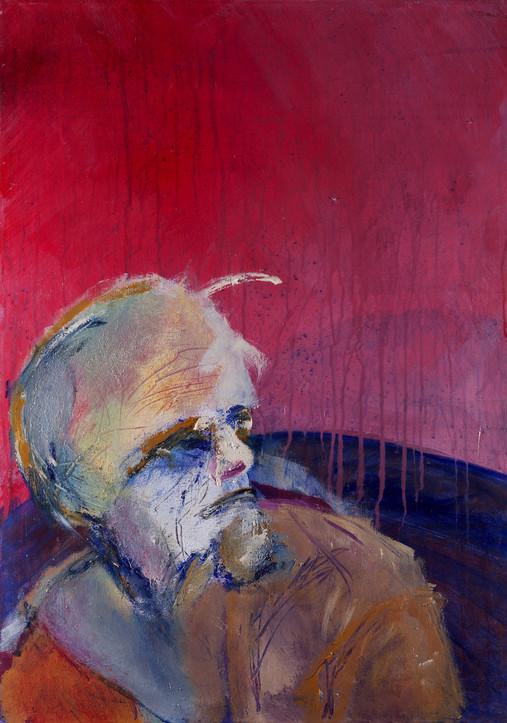 Jose, 2014, acrylic on canvas, 70X50