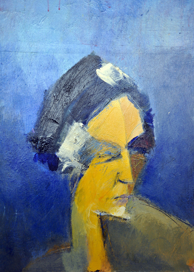 Rebecca, 2016, acrylic on canvas, 70X50