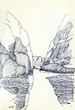 Norway, 2010, ink on paper, 30X20.jpg