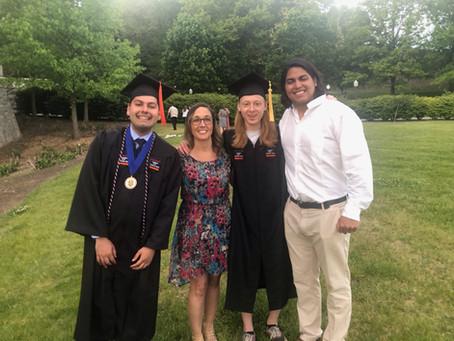 Congrats to our 2021 B.S. graduates!