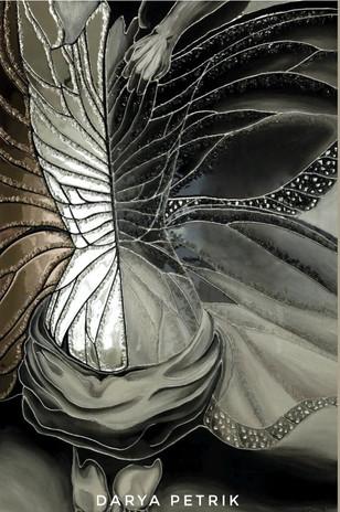 Картина Бабочка,  2020год, размер 120х80
