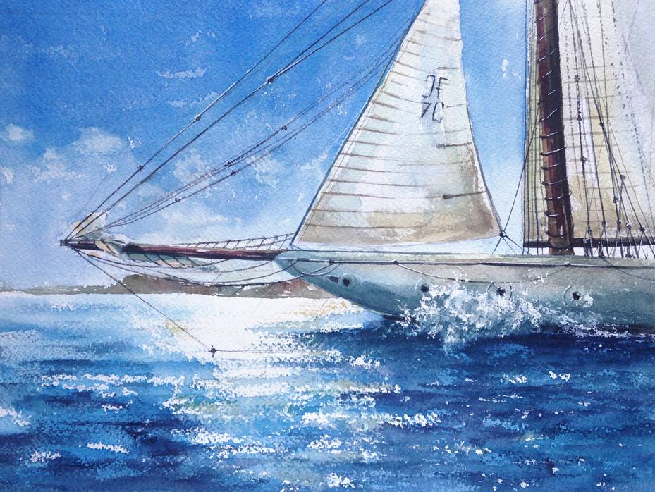Яхты в Сен-Тропе #1