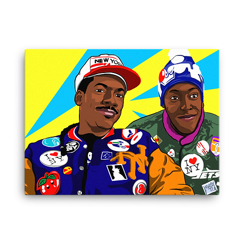 Coming to America Canvas Print