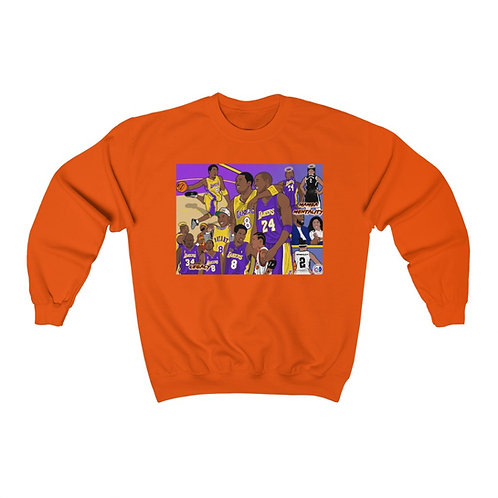 Mamba Out! Unisex Heavy Blend™ Crewneck Sweatshirt