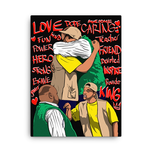 A Father's Love Canvas Print