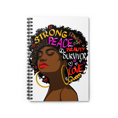 She Spiral Notebook - Ruled Line