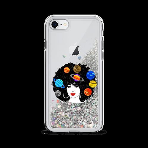 Beauty Liquid Glitter iPhone Case