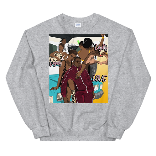 Love, Loyalty, Legacy Unisex Sweatshirt