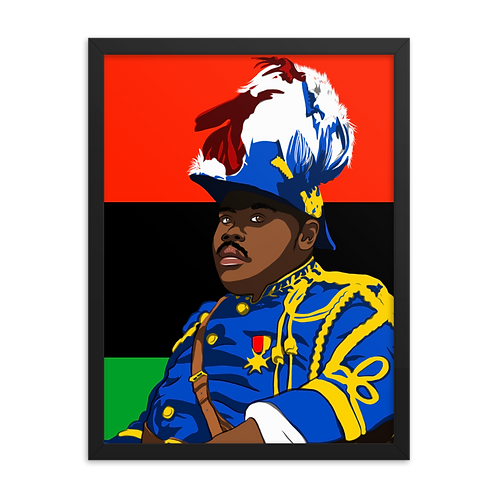Garvey Framed Poster