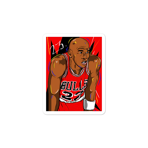 MJ Sticker