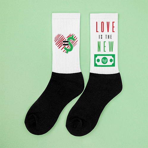 Love = Currency Socks