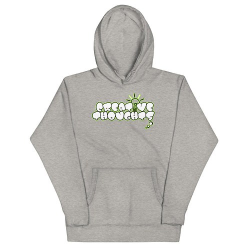 Creative Thoughts Lime Unisex Hoodie