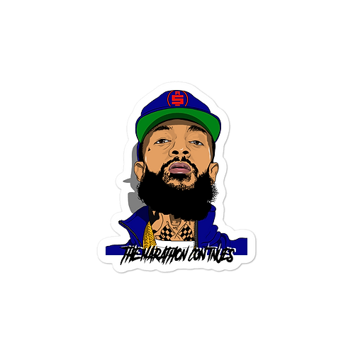 Nipsey Sticker