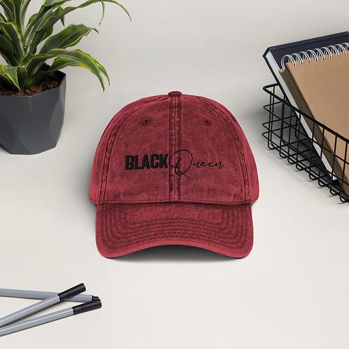BLK Queen Vintage Cotton Twill Cap