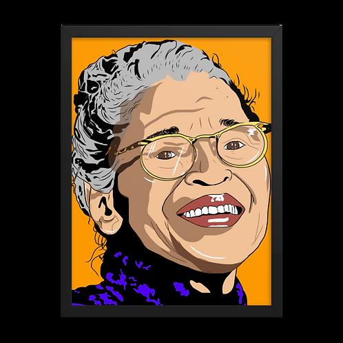 Rosa Framed Poster