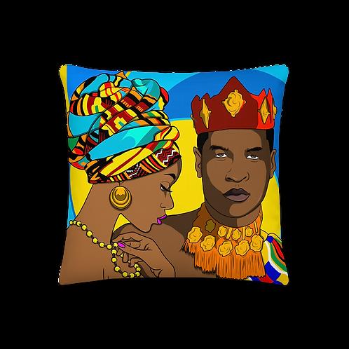 Black Love Throw Pillow