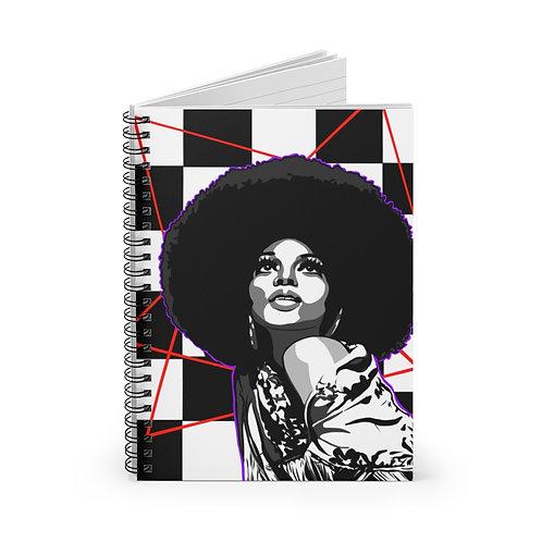 Diamond Diana Spiral Notebook - Ruled Line