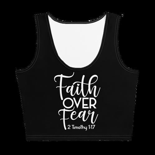 Faith Over Fear Crop Top