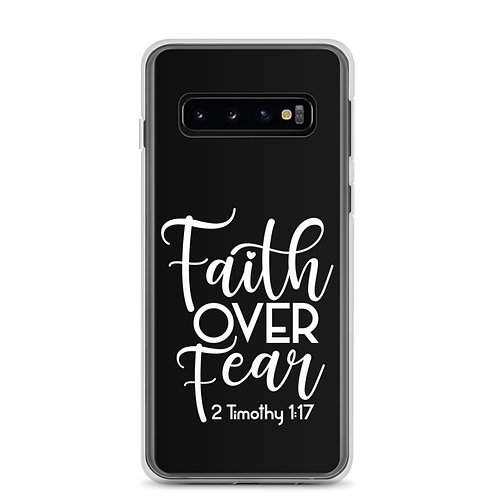 Faith Over Fear Samsung Case