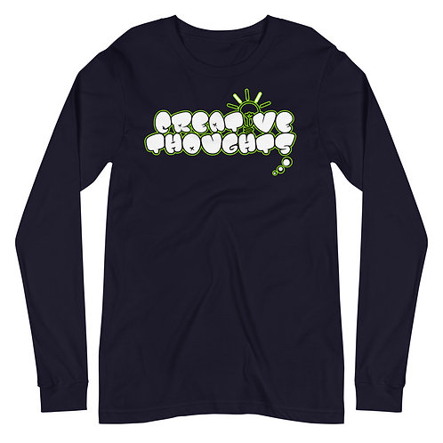Creative Thoughts Lime Unisex Long Sleeve Tee