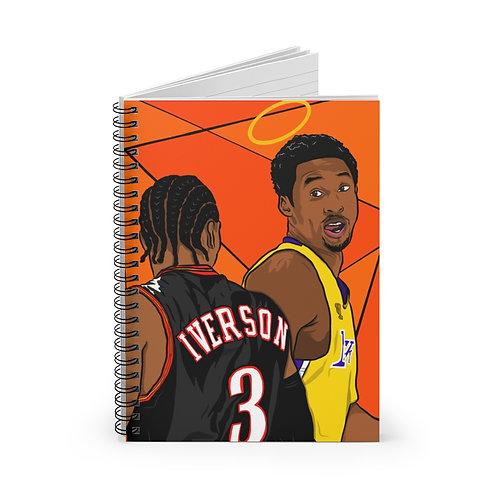 Legends Spiral Notebook - Ruled Line