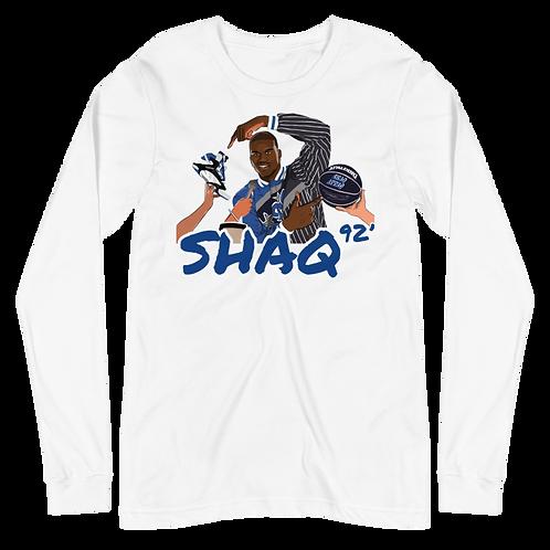 92' Shaq Unisex Long Sleeve Tee