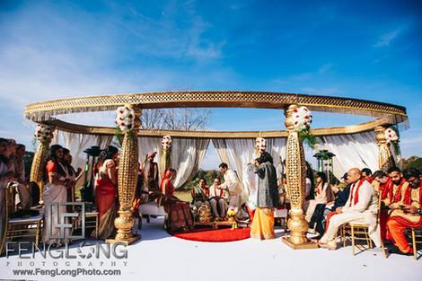 Ayesha & Amit Wedding Mandap