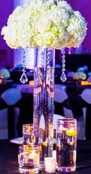 Gorgeous Fresh Hydrangea Centerpiece
