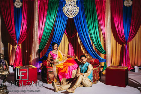 Ayesha & Amit Mehndi Night