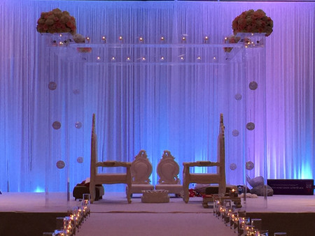 Simply Clear Mandap