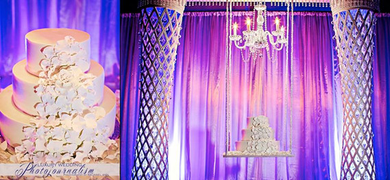 Heena_Ronak_Cake Display