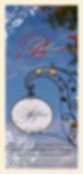 Mitnahmekarte Bellini