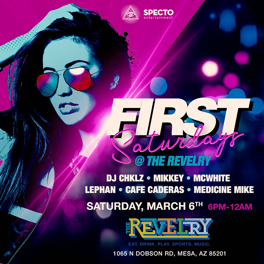 First Saturday's @the Revelry