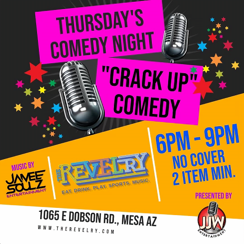 Thursday Night Comedy Night @the Revelry