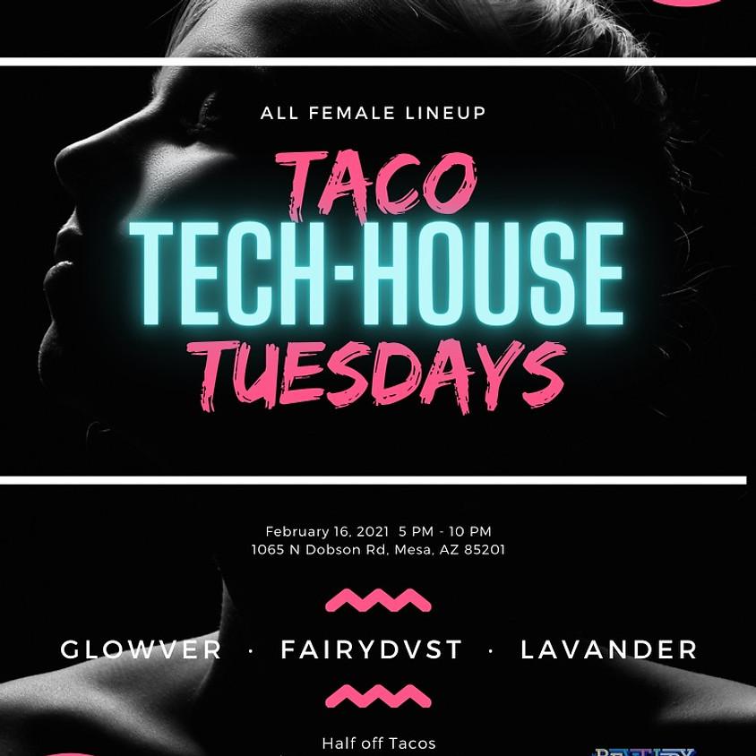 Taco Tech-House Tuesday @the Revelry