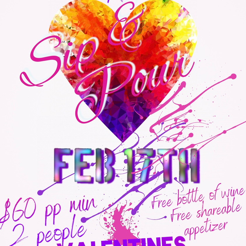 Sip & Pour Paint Event @the Revelry