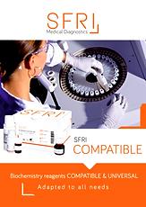 SFRI propose une large gamme de réactifs compatibles de biochimie prêts à l'emploi