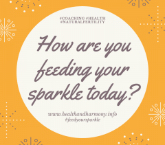 How Are You Feeding Your Sparkle Today?