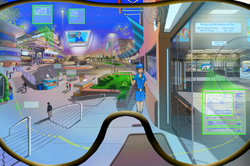 Exploring Augmented Reality in an Interconnected City