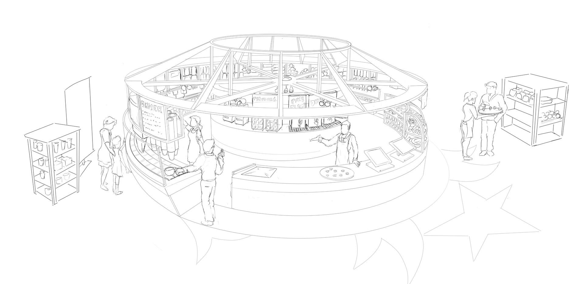 Starbucks Kiosk Concept