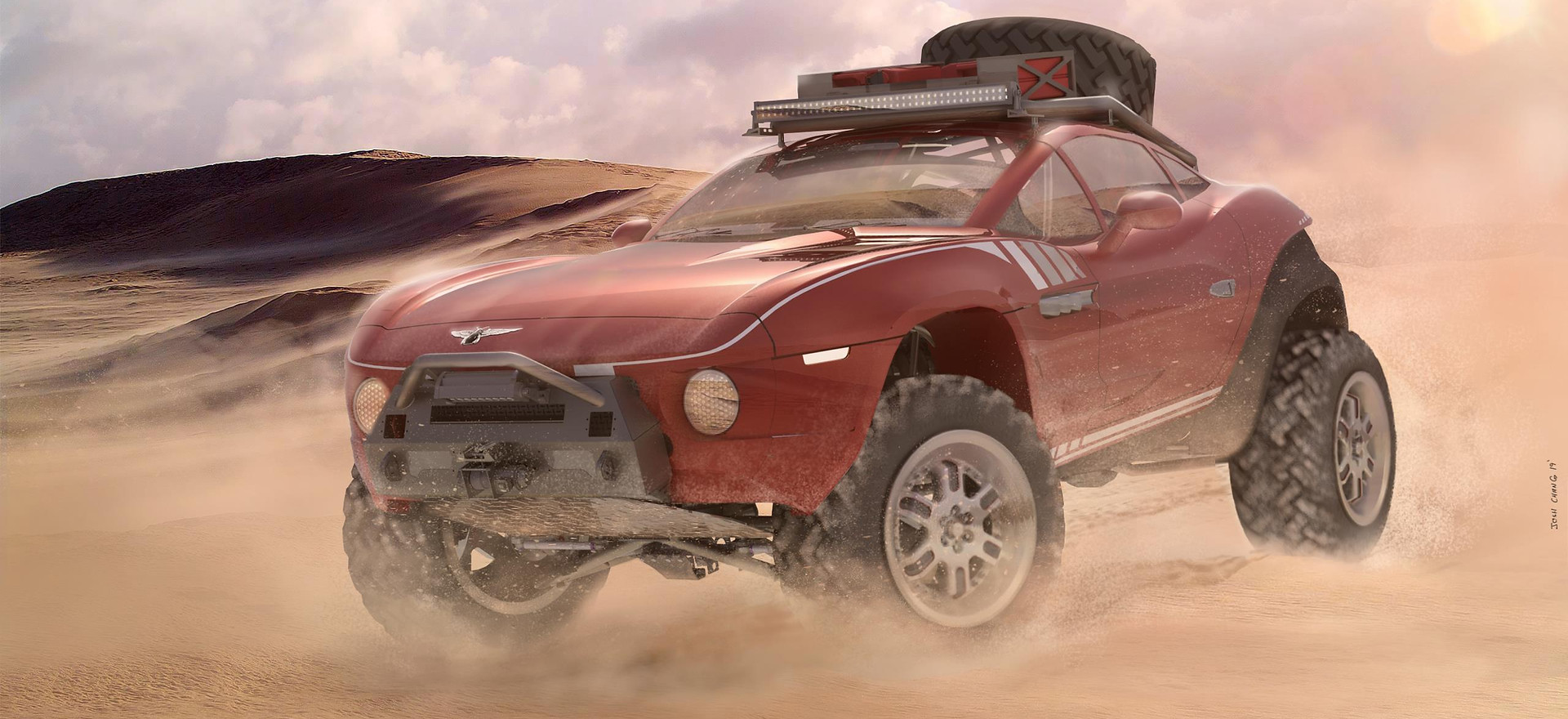 Baja Rally Fighter Concept