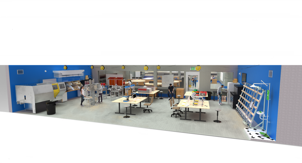 Makerspace Concept for Saguaro High